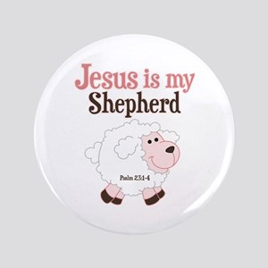 Jesus Is Shepherd Button