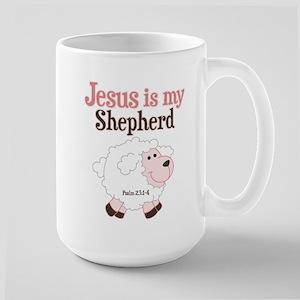 Jesus Is Shepherd Large Mug