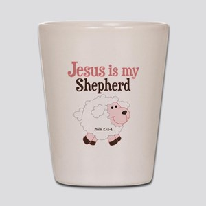 Jesus Is Shepherd Shot Glass