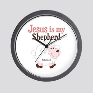 Jesus Is Shepherd Wall Clock
