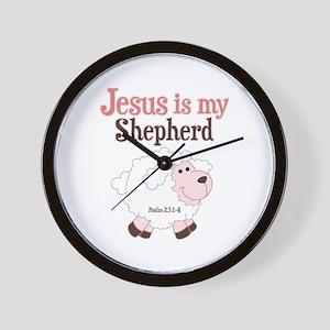 Jesus Is Shepherd Wall Clock