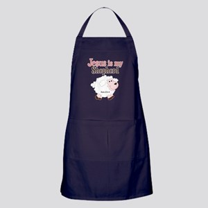 Jesus Is Shepherd Apron (dark)