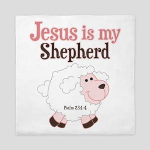 Jesus Is Shepherd Queen Duvet