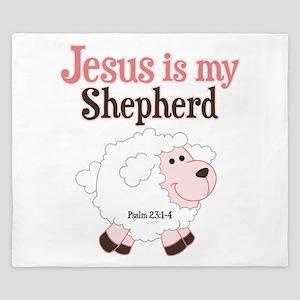 Jesus Is Shepherd King Duvet