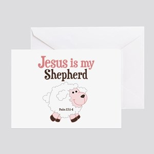 Jesus Is Shepherd Greeting Card