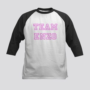 Pink team Enzo Kids Baseball Jersey
