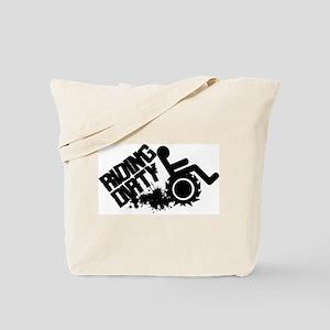 Riding Dirty Tote Bag
