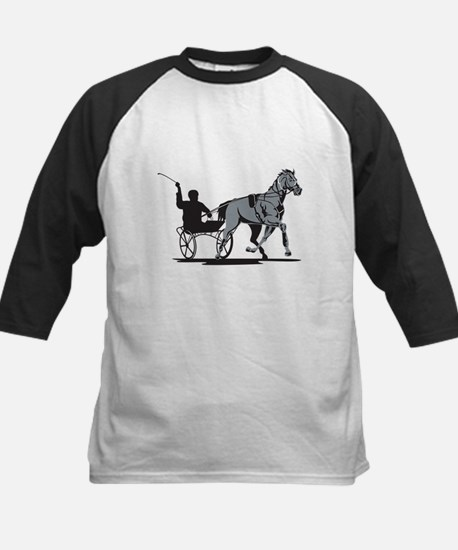Horse and Jockey Harness Racing Kids Baseball Jers