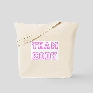 Pink team Kody Tote Bag