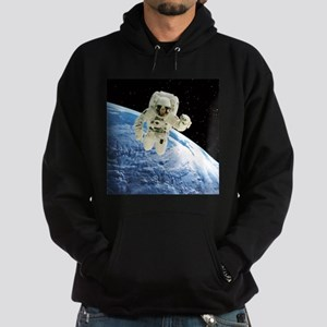 Composite image of a spacewalk over Earth - Hoodie