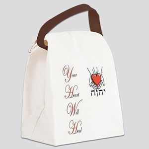 Your Heart Will Heal Canvas Lunch Bag