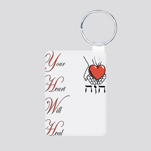 Your Heart Will Heal Aluminum Photo Keychain