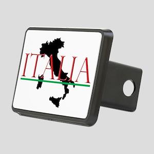 Italia: Italian Boot Rectangular Hitch Cover