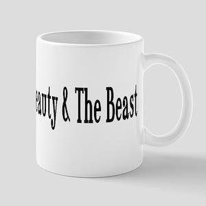 Beauty and The Beast Heart Design Mug