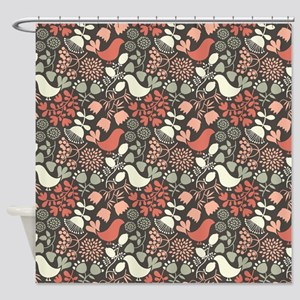 Decorative Pattern Shower Curtain