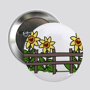 "Sunflowers 2.25"" Button"