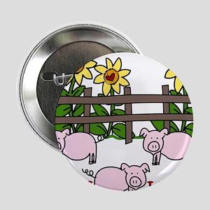 "Farm Living 2.25"" Button"