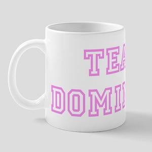 Pink team Dominick Mug