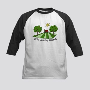 Little Country Church Kids Baseball Jersey
