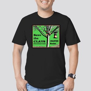 Save the Clays Foundation Men's Fitted T-Shirt (da