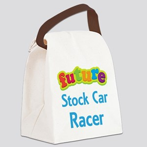 Future Stock Car Racer Canvas Lunch Bag