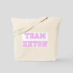 Pink team Keyon Tote Bag