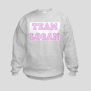 Pink team Logan Kids Sweatshirt