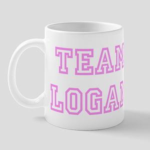 Pink team Logan Mug