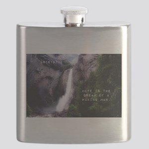Hope Is The Dream - Aristotle Flask