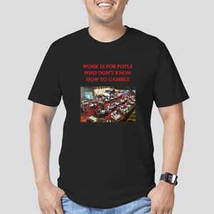 casino Men's Fitted T-Shirt (dark)