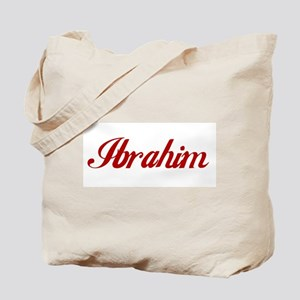 Ibrahim name Tote Bag