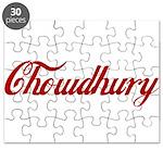Chowdhury name Puzzle