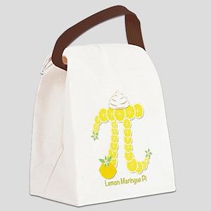 Lemon Meringue Pi Canvas Lunch Bag