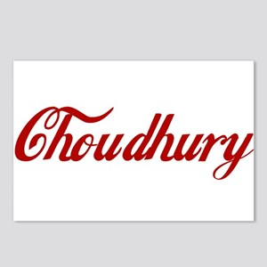 Choudhury name Postcards (Package of 8)