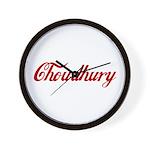 Choudhury name Wall Clock