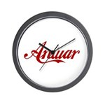 Anwar name Wall Clock