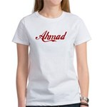 Ahmad name Women's T-Shirt