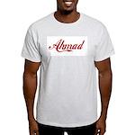 Ahmad name Light T-Shirt