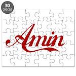 Amin name Puzzle