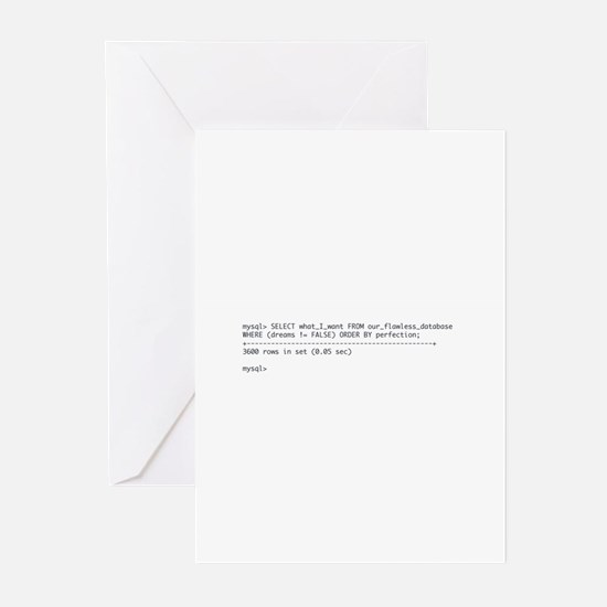 Tattoo-Ready Query Greeting Cards (Pk of 10)