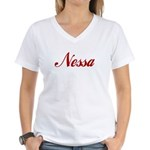 Nessa name Women's V-Neck T-Shirt