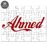 Ahmed name Puzzle