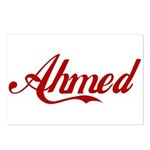 Ahmed name Postcards (Package of 8)