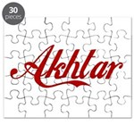 Akhtar name Puzzle