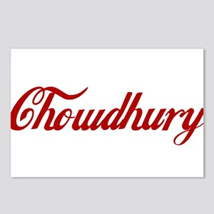 Chowdhury name Postcards (Package of 8)