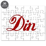 Din name Puzzle