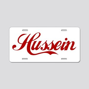 Hussein name Aluminum License Plate