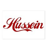 Hussein name Postcards (Package of 8)