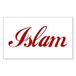 Islam name Sticker (Rectangle 10 pk)