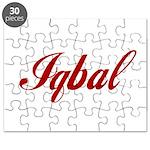 Iqbal name Puzzle